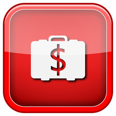 Dollar bag icon