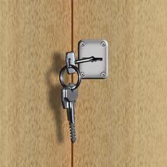 Chiave/serratura