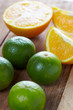Oranges and lime a