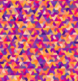 seamless geometric colorful pattern
