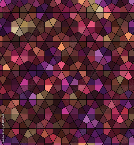 seamless black hexagonal pattern