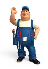 Mechanic with class