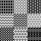 Seamless pixel patterns set