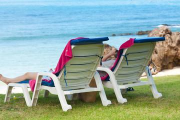 vacances détente au bord de la mer
