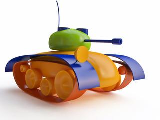 3d Toy Tank