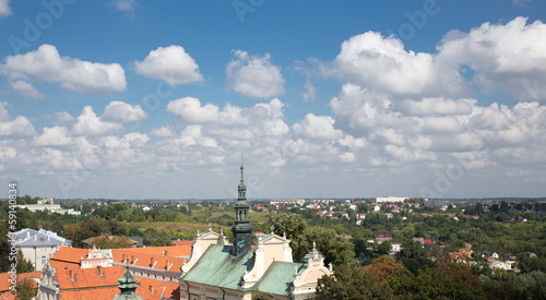Roofs of Sandomierz.