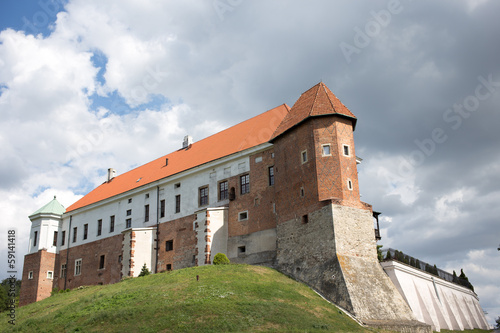 Castle in Sandomierz.