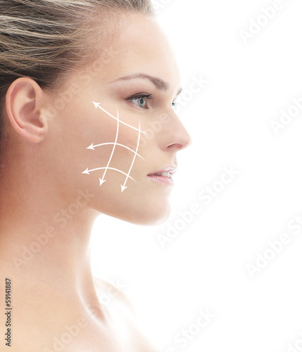 Beautiful, healthy and young woman on a spa treatment