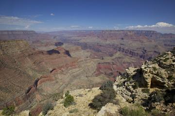 Moran point,  le Grand Canyon, Arizona