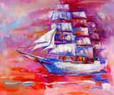 Sail ship