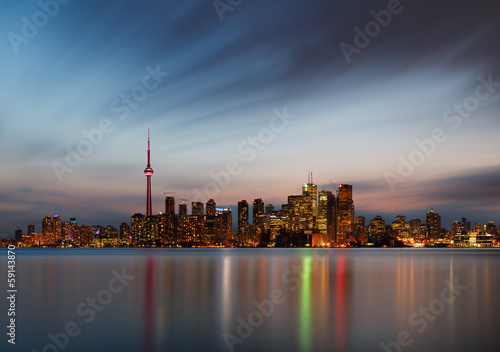 Papiers peints Canada Toronto skyline, Canada