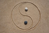 Landart Yin und Yang