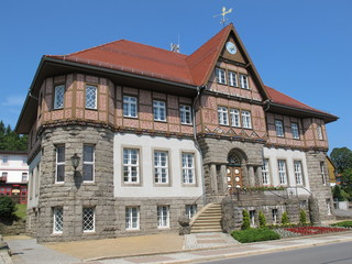 Rathaus Schierke – Nationalpark Harz
