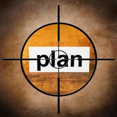 Plan target concept