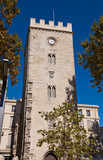 Saint-Jean Tower (XIV c.) in Avignon, France (monument historiqu