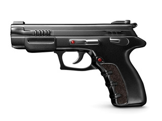 3d hand gun