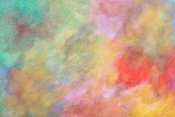 Textur Leinwand mit Farben