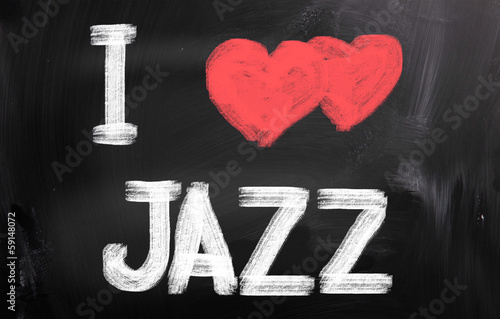 I Love Jazz Concept - 59148072