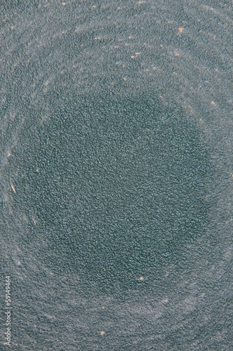 Texture of old green sandpaper
