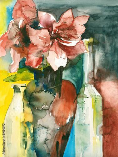 Still life with amaryllis © Heidrun Gellrich