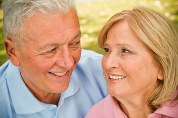 Seniors Eye Contact
