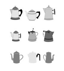 vintage non electric coffee pots