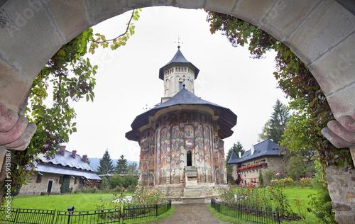The Moldovita Monastery,  Bucovina, Romania