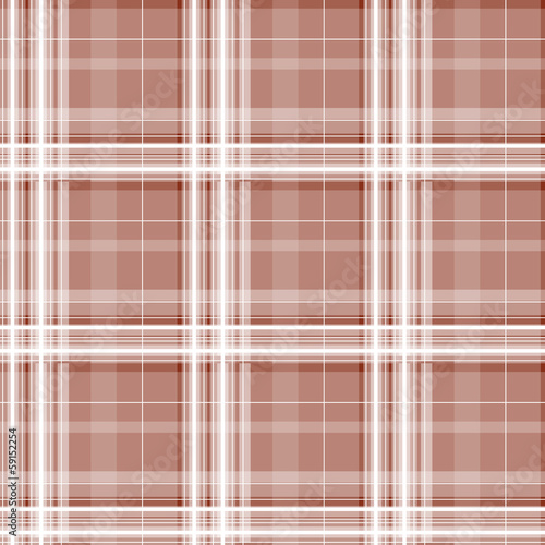 Brown checkered seamless pattern