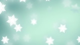 falling snowflakes background, seamless loop