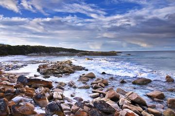 Tasmanian coast