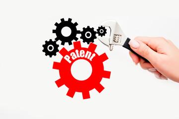 Industrial patent concept