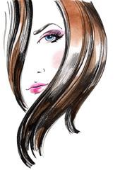 lock of hair