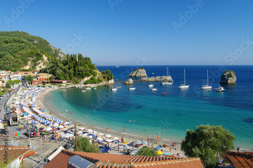 Parga Beach And Marina, Greece