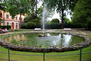 foligno fontana nel parco