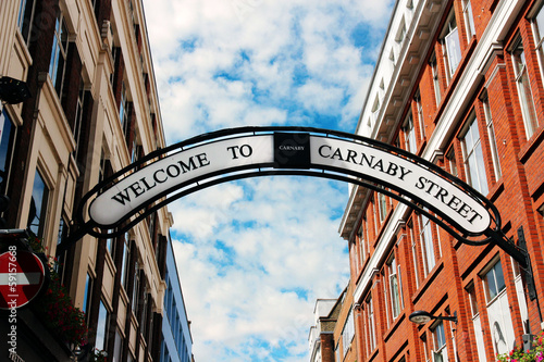 Carnaby Street, London, UK