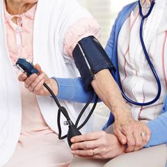 Blood pressure measurement in nursing home