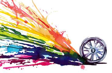 wheel motion