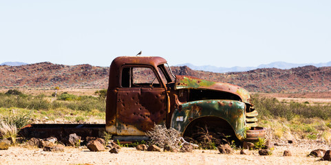 Oldtimer in the Desert, Namibia