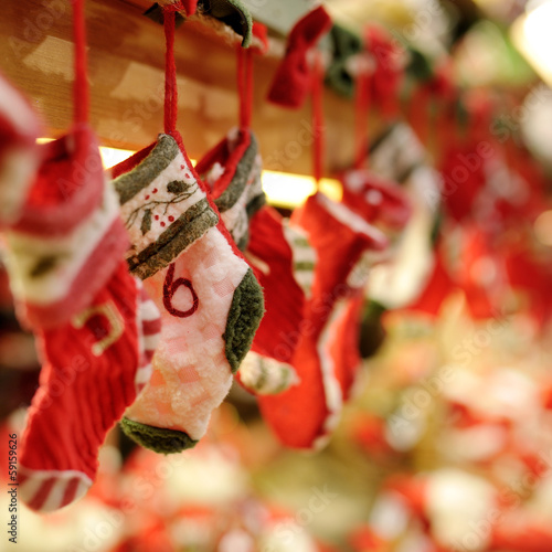 Funny socks Christmas tree decoration