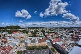 Lviv City birdeye view