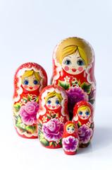 Fünf Matrjoschkas