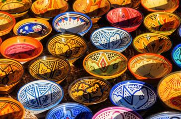 Keramikschalen aus Marrakesch
