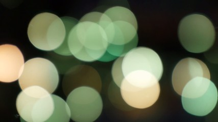 Christmas lighting glow, bokeh No.02