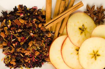 Fruit tea ingredients