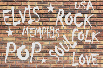 ROCK  POP Graffiti