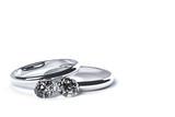 2つの指輪と宝石のCG - 59166479