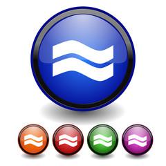 Button Vektor Wellen