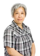mature asian woman smile