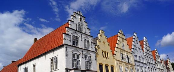 Historische Altstadt von FRIEDRICHSTADT ( bei Husum )
