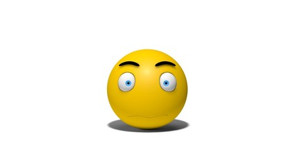 emotional 3d smiley